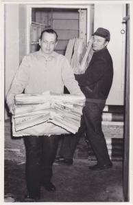 Kirjasto on muuttanut historiansa aikana useamman kerran. Kuva v. 1958.