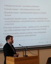 Jarmo Saarti (Kuva: Arto Ikonen)